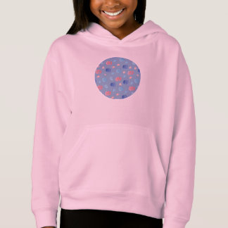Chinese Lanterns Girls' Pullover Hoodie