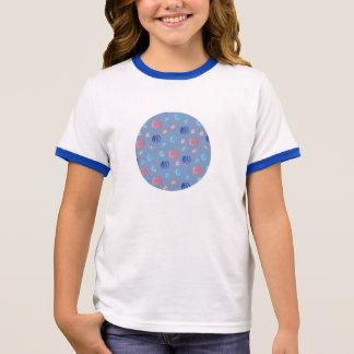 Chinese Lanterns Girls' Ringer T-Shirt