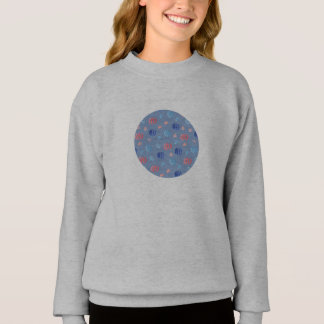 Chinese Lanterns Girls' Sweatshirt