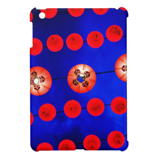 Chinese lanterns iPad mini cover