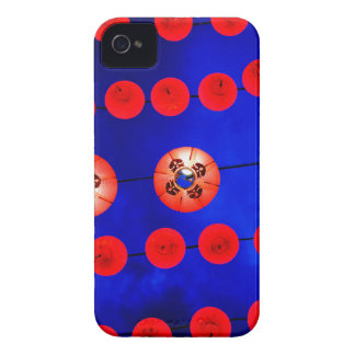 Chinese lanterns iPhone 4 Case-Mate case