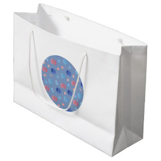 Chinese Lanterns Large Glossy Gift Bag