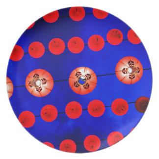Chinese lanterns plate