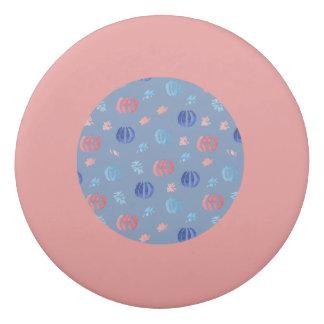 Chinese Lanterns Round Eraser