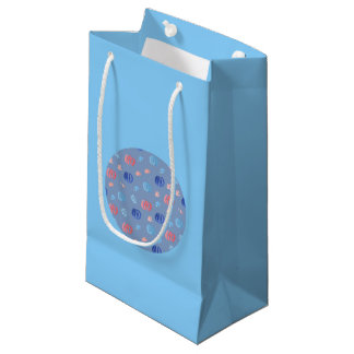 Chinese Lanterns Small Glossy Gift Bag