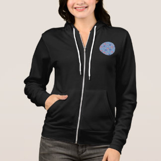 Chinese Lanterns Women's Full-Zip Hoodie