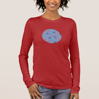 Chinese Lanterns Women's Long Sleeve T-Shirt
