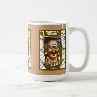 Chinese laughing Buddha Coffee Mug