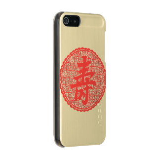 """Chinese Long Life Phone Case"" Incipio Feather® Shine iPhone 5 Case"