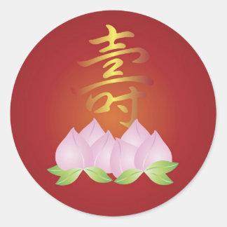 Chinese Longevity Birthday Sticker
