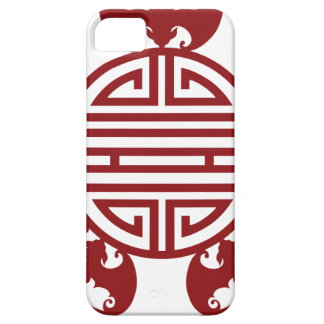 Chinese Longevity Five Blessings Symbols Case For The iPhone 5