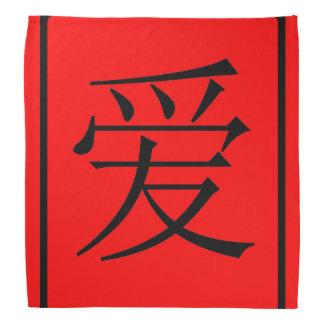 Chinese Love Bandana