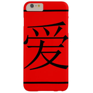 Chinese Love Barely There iPhone 6 Plus Case