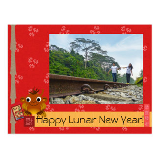 Chinese New Year Postcards, Chinese New Year Post Card Templates