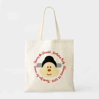 Chinese Male Hat 鮑 鮑 Birthday Souvenir Tote Bag 3