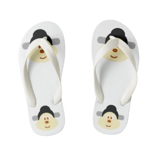 Chinese Male Hat 鮑 鮑 - Kid Flip Flop