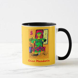 Chinese mandarin mug