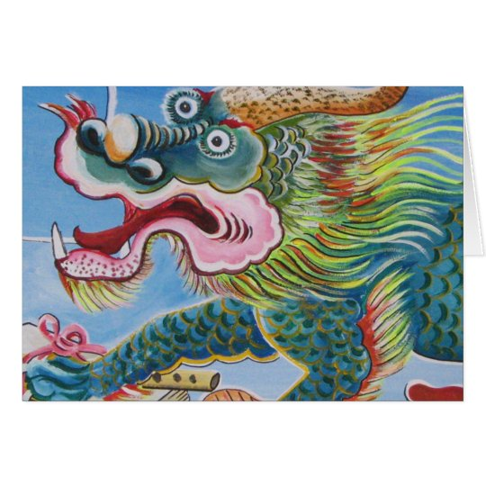 Chinese Mural Card