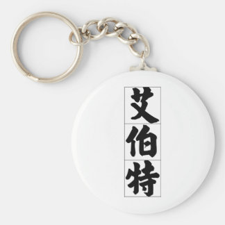 Chinese name for Albert 20402_4.pdf Basic Round Button Keychain