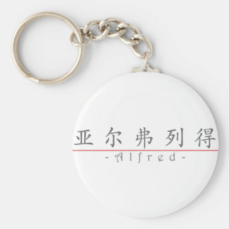 Chinese name for Alfred 20405_1.pdf Basic Round Button Keychain