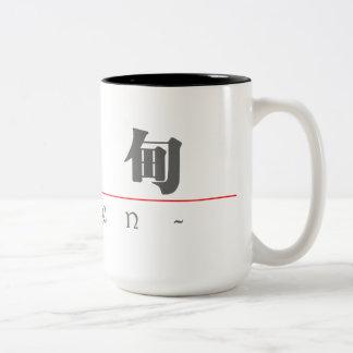 Chinese name for Eden 20095_3.pdf Two-Tone Coffee Mug
