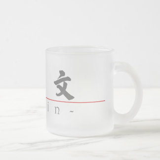 Chinese name for Gavin 20594_4.pdf Frosted Glass Coffee Mug