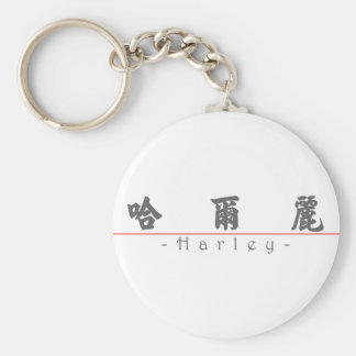Chinese name for Harley 21435_4.pdf Basic Round Button Keychain