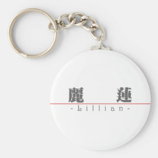 Chinese name for Lillian 20208_3.pdf Keychain