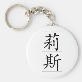 Chinese name for Liz 20212_1.pdf Keychain