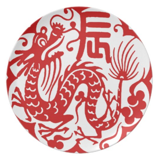 Chinese New Year 2012 Plate