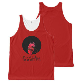 Chinese New Year 2017 Pixelised Rooster Tank Top