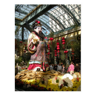 Chinese New Year at Bellagio Gardens Postcard