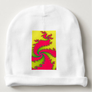 Chinese New Year Dragon Fractal Baby Beanie Hat
