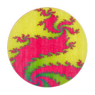 Chinese New Year Dragon Fractal Cutting Board