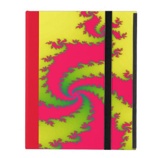 Chinese New Year Dragon Fractal iPad Case