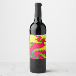 Chinese New Year Dragon Fractal Labels