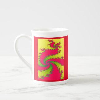 Chinese New Year Dragon Fractal Mug