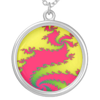 Chinese New Year Dragon Fractal Necklace
