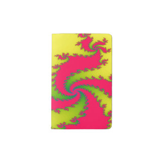 Chinese New Year Dragon Fractal Notebook Cover