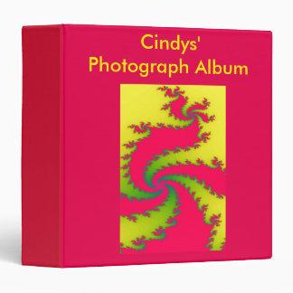 Chinese New Year Dragon Fractal Photograph Album Binder