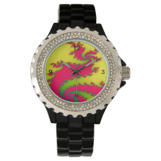 Chinese New Year Dragon Fractal Watch