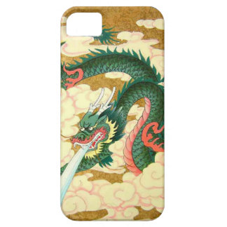 Chinese New Year,Green dragon Case For The iPhone 5