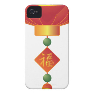 Chinese New Year Lantern Illustration Case-Mate iPhone 4 Cases