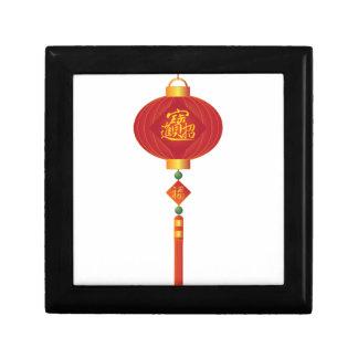 Chinese New Year Lantern Illustration Gift Box