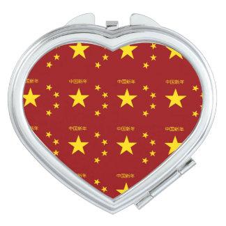 Chinese New Year Pattern Vanity Mirror
