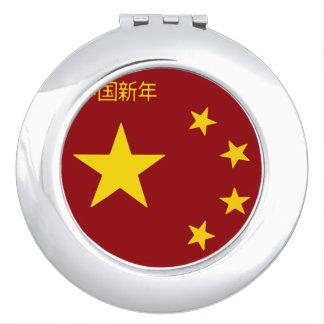 Chinese New Year Poster Travel Mirrors