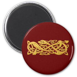 Chinese New Year - Year Of The Snake 2013 2 Inch Round Magnet