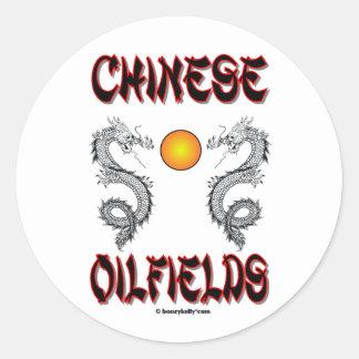 Chinese Oilfields, Oil Field Sticker