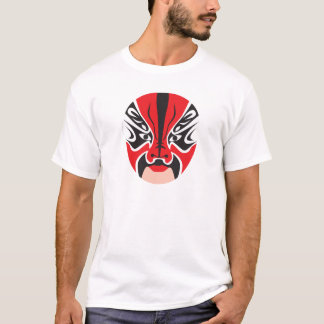 Chinese Opera Mask from the Mascarata™ Collection T-Shirt