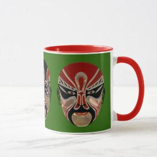 Chinese Opera Masks Mug